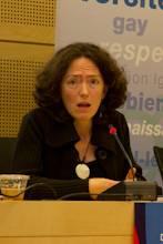 """Sarah Burton : Membre de la Section """"Egalité dans la Diversité"""" de l'Amicale du Conseil de l'Europe"""