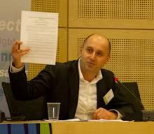 Philippe Orillac fait adopter la déclaration de Strasbourg à la fin des séances de travail