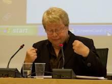 Joke Swiebel : Ex membre néerlandaise du parlement européen et 'mère' de la Directive Libre Circulation de 2004